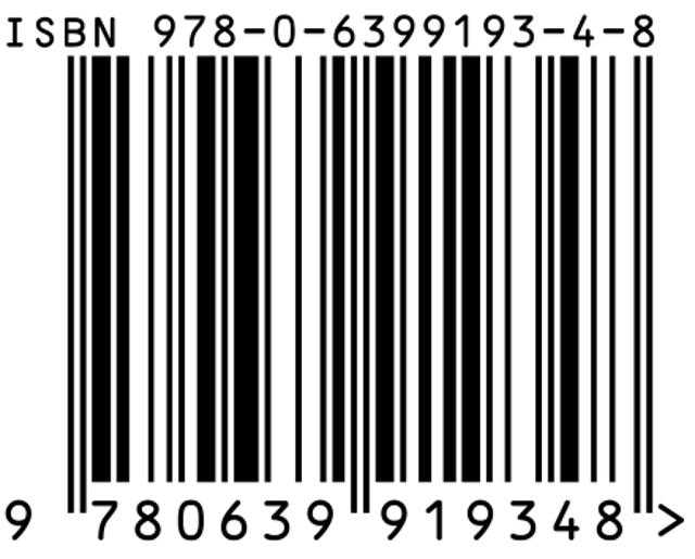 barcode 978 0 6399193 4 8 300dpi